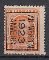 BELGIË - PREO - 1923 - Nr 71 B - ANTWERPEN 1923 ANVERS - (*) - Préoblitérés