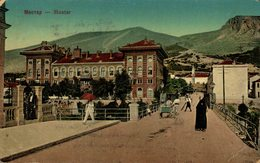 MOSTAR MOCTAP. BOSNIA Y HERZEGOVINA BOSNIEN UND  HERZEGOWINA - Bosnie-Herzegovine