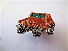 PINS AUTOMOBILE 4X4 ROUGE / 33NAT - Badges