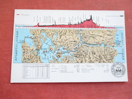 Embossed Map Canal Zone Panama    Ref 3111 - Panama