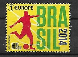 Belgien  2014  Fußball - WM In Brasilien  COB 4422  Postfrisch - Ungebraucht