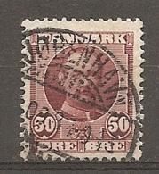 Yv. DK  N°  60   (o)    50  O  Frédéric VIII  Cote  6 Euro BE   2 Scans - Used Stamps