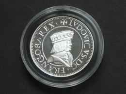 ITALIE - DUCHÉ DE MILAN - LOUIS XII Teston - Magnifique Copie En Argent Pur   **** EN ACHAT IMMEDIAT **** - 987-1789 Monnaies Royales