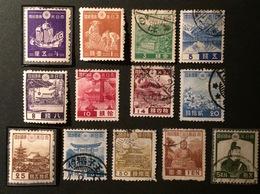 JAPON 1937-40 YT N°262-263... Neufs Et Oblitérés - 1926-89 Kaiser Hirohito (Showa Era)