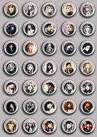 35 X ROCK STEVIE NICKS Music Fan ART BADGE BUTTON PIN SET 1 (1inch/25mm Diameter) - Music