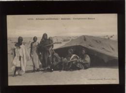 Afrique Occidentale  Mauritanie Campement Maure  édit. Fortier N° 1070 - Mauritania