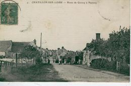CHATILLON Sur LOIRE- Route De Cernoy à Nancray -1916- Bon état - Chatillon Sur Loire