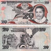 Tanzanie 20 Shillings - Tanzania