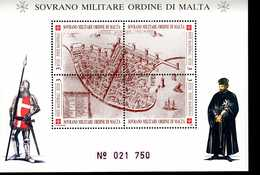 Malteser Orden SMOM Block I'TOLOMAIDA  MNH Postfrisch  Neuf ** (0008) - Malta (Orden Von)