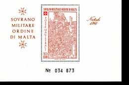 Malteser Orden SMOM Block Natal 1980  MNH Postfrisch  Neuf ** (0010) - Malta (Orden Von)