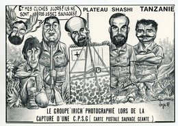VEYRI - Tanzanie - Capture D'une Carte Postale Pirate Géante  - 1987 - Voir Scan - Veyri, Bernard