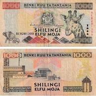 Tanzanie 1000 Shillings - Tanzania