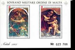 Malteser Orden SMOM Block Natal 1983  MNH Postfrisch  Neuf ** (0014) - Malta (Orden Von)