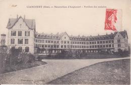 CPA - LIANCOURT (Oise) - Sanatorium D'Angicourt, Pavillon Des Malades - Liancourt