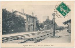 AYRON - La Gare, Vue Prise De La Voie - France