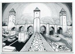 "VEYRI - CAHORS - Pont Valentré - ""Vers La Navigautoroutablité Du Lot -  Voir Scan - Veyri, Bernard"