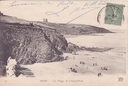 CPA - 11. BINIC - La Plage De L'avant Port - Binic