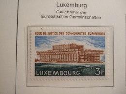 LUXEMBOURG     1972. EU COURT     MNH.    IS22-NVT - Idées Européennes