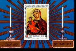 Malteser Orden SMOM Block Natal 1989 MNH Postfrisch  Neuf ** (0020) - Malta (Orden Von)
