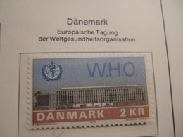 DENMARK     1972.   WHO   MNH.    IS22-NVT - European Ideas