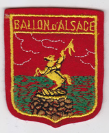 Ecusson Tissu - Ballon D'Alsace - Blason - Armoiries - Héraldique - Patches