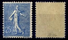 France N° 132 Neuf ** Signé Calves - Cote 225 Euros TTB Qualité - France