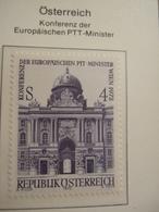 AUSTRIA     1972.  EU CONFERENCE MINISTERS OF POST   MNH.    IS22-NVT - European Ideas