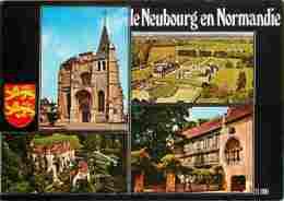 27 - Le Neubourg - Multivues - Maison à Pans De Bois - Blasons - Voir Scans Recto-Verso - Le Neubourg