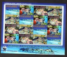 WWF Grenada & Petite Martinique, Kleinbogen Meerestiere - Sonstige