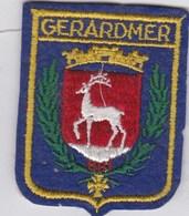 Ecusson Tissu - Gérardmer (88) - Blason - Armoiries - Héraldique - Scudetti In Tela