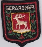 Ecusson Tissu - Gérardmer (88) - Blason - Armoiries - Héraldique - Stoffabzeichen