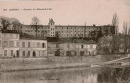 Cpa 17 SAINTES  Caserne De Brémond-d'Ars, La Charente , écrite Par Un Militaire Du 57è R.I Du Nord En 1919 - Saintes