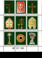 Malteser Orden SMOM Kunstschätze MNH Postfrisch  Neuf ** (0022) - Malta (Orden Von)
