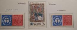 SWEDEN  1972. EU CONFERENCE. ENVIRONMENT   MNH.    IS22-NVT - European Ideas