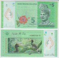 Malaysia 5 Ringgit 2012 Pick 52 UNC - Malaysie