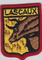 Ecusson Tissu - Lascaux (19) - Blason - Armoiries - Héraldique - Stoffabzeichen