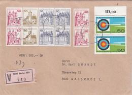 LETTRE. COVER. GERMANY. REGISTERED BERLIN - Briefmarken