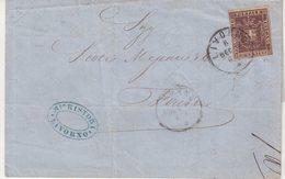ITALIE : TOSCANE . N° 19 . 1860 . TB . ( CATALOGUE YVERT ) . - Toscane