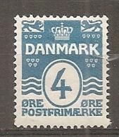 Yv. DK  N°  72   *  4o   Cote  5,8 Euro BE  2 Scans - 1913-47 (Christian X)
