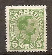 Yv. DK  N°  73   *  5o  Christian X Cote  1,5 Euro BE  2 Scans - 1913-47 (Christian X)