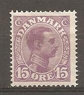 Yv. DK  N°  76   *  15o  Christian X Cote  2,25 Euro D  2 Scans - 1913-47 (Christian X)