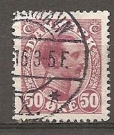 Yv. DK  N°  80   (o)  50o  Christian X Cote  3,25 Euro BE   2 Scans - 1913-47 (Christian X)