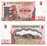Zimbabwe 5 Dollars - Zimbabwe
