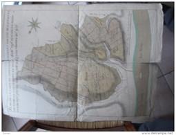 PLAN 18 è S. De La Garde De Mortagne ... Forest De Vernon Env 52 X 37 Cm ( Aquarellé ) - Documents Historiques