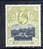 W1471 - ST HELENA , Yvert N. 31 (gibbons 51) * - Isola Di Sant'Elena