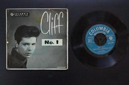 CLIFF RICHARD & DRIFTERS .CLIFF N° 1  RARE EP ANGLAIS 1959 VALEUR + - 45 Rpm - Maxi-Single