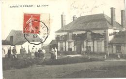 Carte Postale Ancienne CORQUILLEROY La Place - Autres Communes