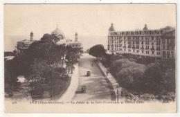 06 - NICE - Le Palais De La Jetée-Promenade Et L'Hôtel Ruhl - 1918 - ND 988 - Cafés, Hotels, Restaurants