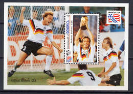 Soccer World Cup 1994 - Football - DOMINICA - S/S MNH - World Cup