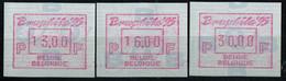 "PIA - BEL - 1995 - Tps De Distributeurs : Esposizione Filatelica ""Bruphila '95"" A Bruxelles - (Yv 40) - 1980-99"
